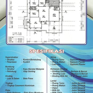 Bungalow Dusun Nyior Specicifations