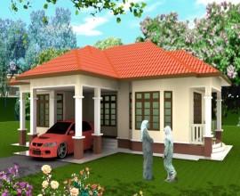 Taman Tengku Aminah- Banglo 1 Tingkat 12 Unit
