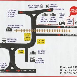 lokasi Tapak Projek Taman Seri Wira