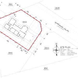 Site Plan Gual Periok
